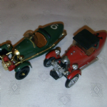 Brumm 1:43 vintage DARMONT MORGAN CYCLECAR 3 WHEELER SPORTS CARS X2 DIE-CAST @sold@